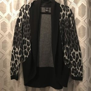 Adorable Animal Print Cardigan